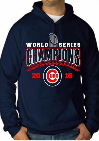 WORLD SERIES CHAMPIONS Printed Hoodie