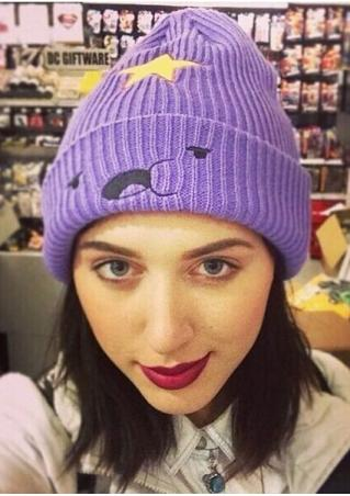 Star Cute Expression Knitted Hat
