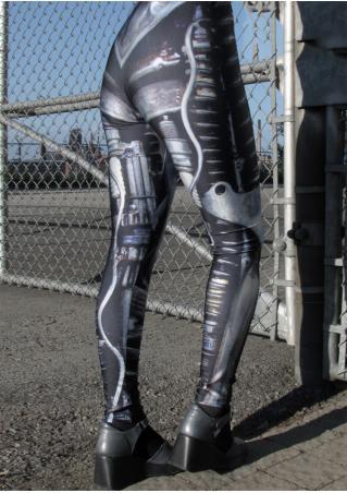 TAFI Machine Stretchy Skinny Slim Leggings