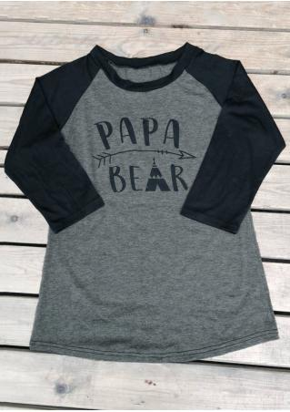 PAPA BEAR Baseball T-Shirt