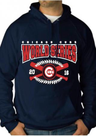 WORLD SERIES Pocket Drawstring Hoodie