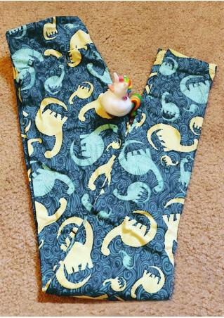 Dinosaur Printed Leggings