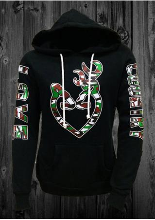 Love Country Heart &Buck Hoodie