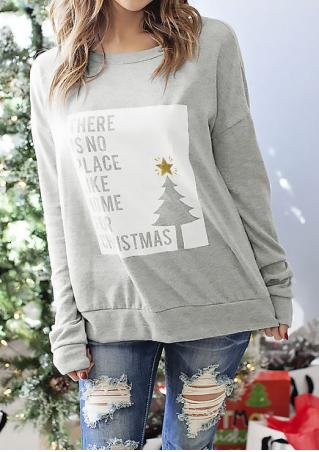 There Is No Place Like Home for Christmas Sweatshirt