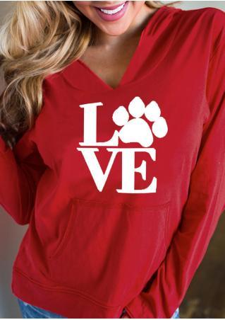 Love & Paw Pocket Hoodie