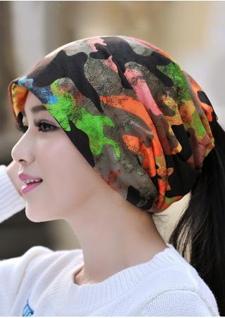 Camouflage Multi-Way Hat