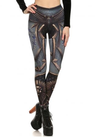 Printed Stretchy Skinny Leggings