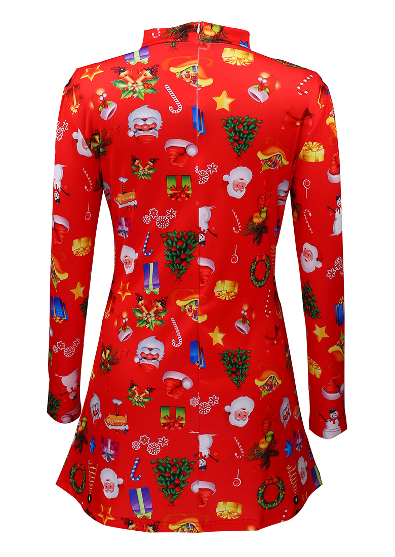 Christmas gift santa claus tree dress bellelily