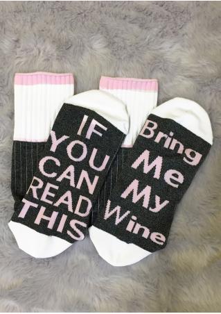 Bring Me My Wine Socks