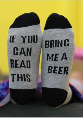 Bring Me a Beer Warm Socks