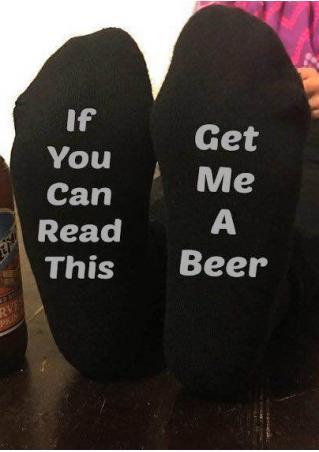 Get Me a Beer Socks