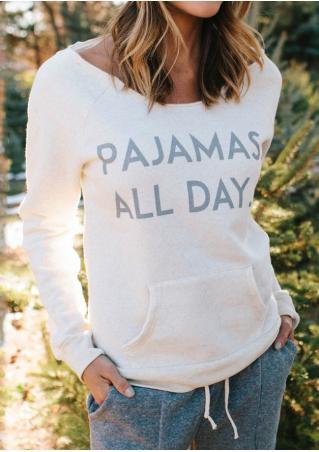 Pajamas All Day Sweatshirt