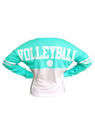 Volleyball Batwing Sleeve Sweatshirt