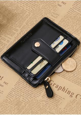 Solid PU Multi-Layered Card Holder