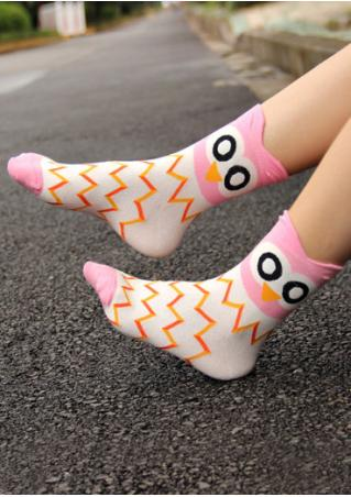 Cute Owl Novelty Socks