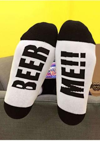 Beer Me Soft Socks
