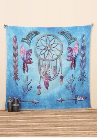 Dream Catcher Feather Arrow Rectangle Tapestry