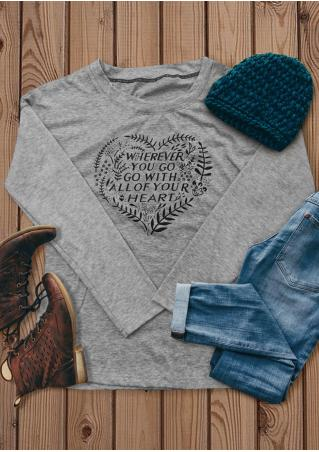 Go with All of Your Heart T-Shirt