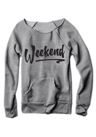 Weekend Pocket Sweatshirt