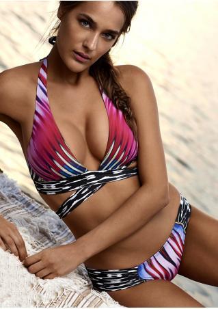 Wrap Halter Bikini Set