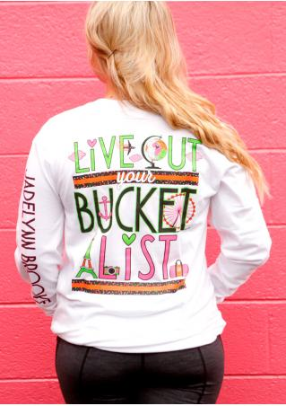 Bucket List Long Sleeve Sweatshirt