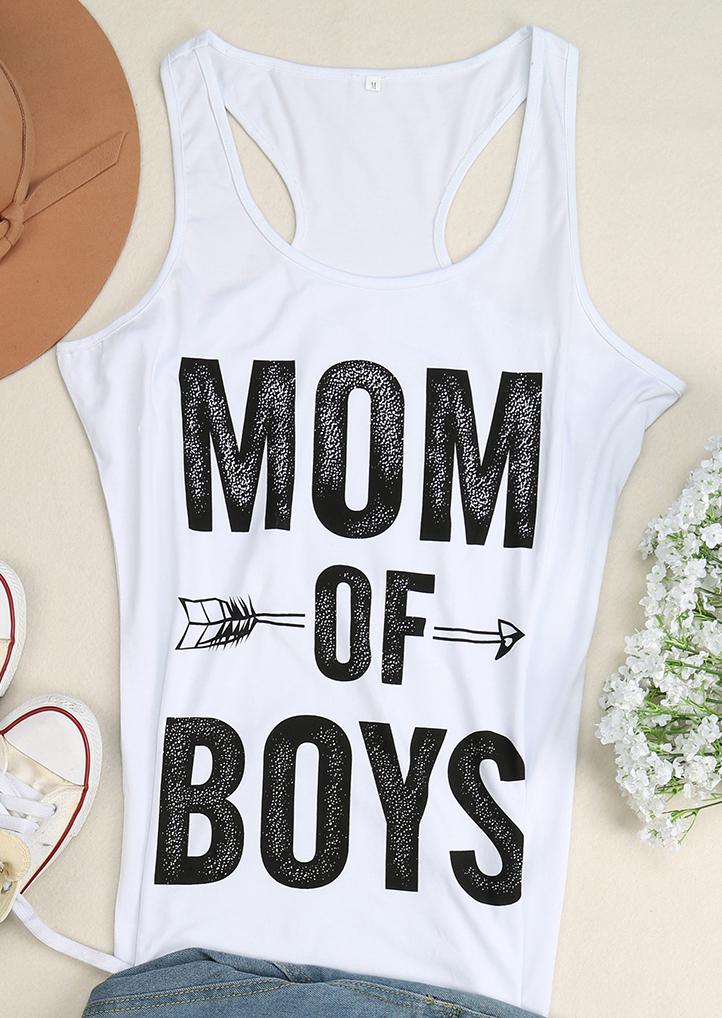 26ddd50e7 Mom of Boys Arrow Tank - Bellelily