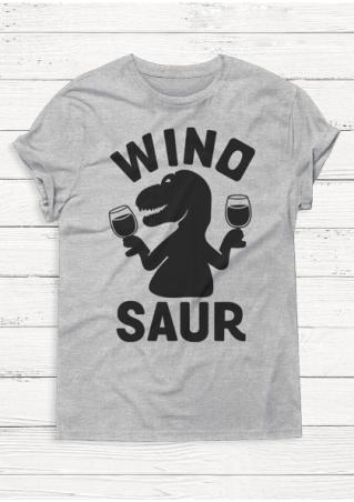Winosaur Casual T-Shirt