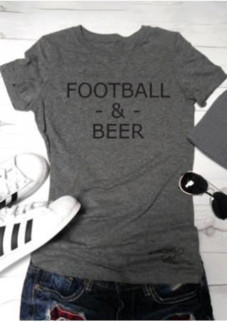 Football & Beer T-Shirt