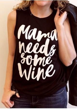Mama Needs Some Wine Tank
