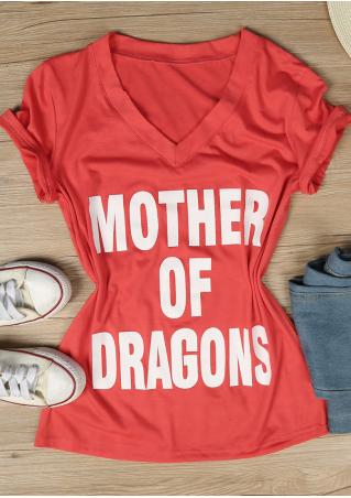Mother Of Dragons Casual T-Shirt