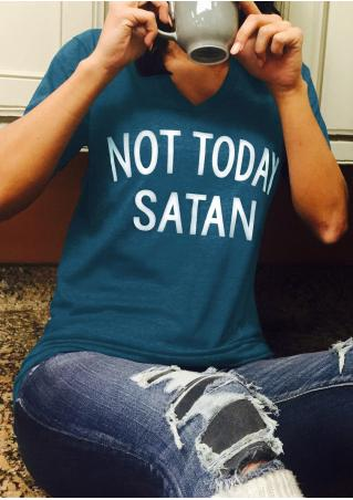 Image result for not today satan shirt