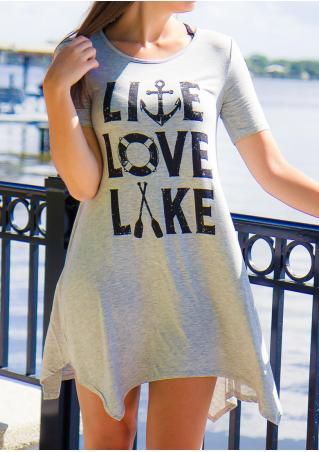 Live Love Lake Casual Mini Dress