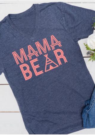 Mama Bear Casual T-Shirt