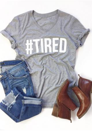 Tired Short Sleeve T-Shirt
