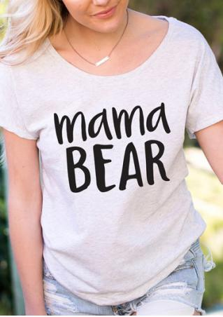 Mama Bear T-Shirt without Necklace