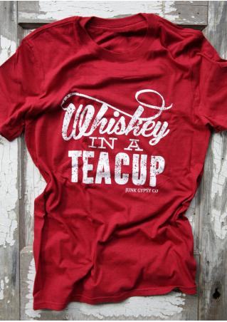 Whiskey In A Teacup T-Shirt