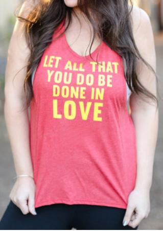 Let All That You Do Be Done In Love Tank