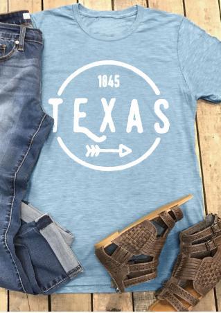 1845 Texas Arrow T-Shirt