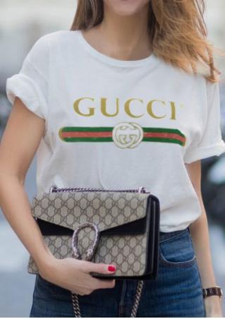 Letter Short Sleeve T-Shirt