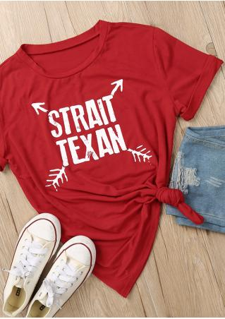 Strait Texan Arrow T-Shirt