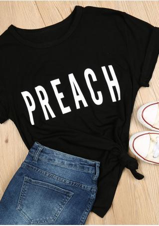Preach Casual T-Shirt