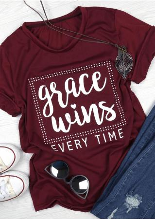 Grace Wins Every Time T-Shirt