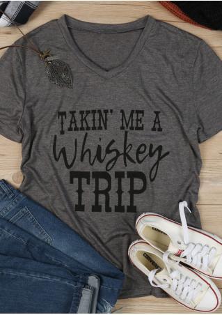 Takin' Me A Whiskey Trip T-Shirt