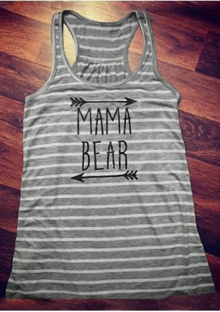 Mama Bear Striped Tank