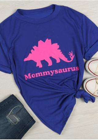 Mommysaurus Dinosaur T-Shirt