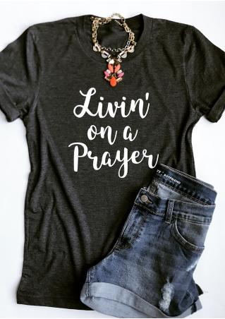 Livin' On A Prayer T-Shirt without Necklace