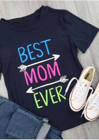 Best Mom Ever Arrow T-Shirt