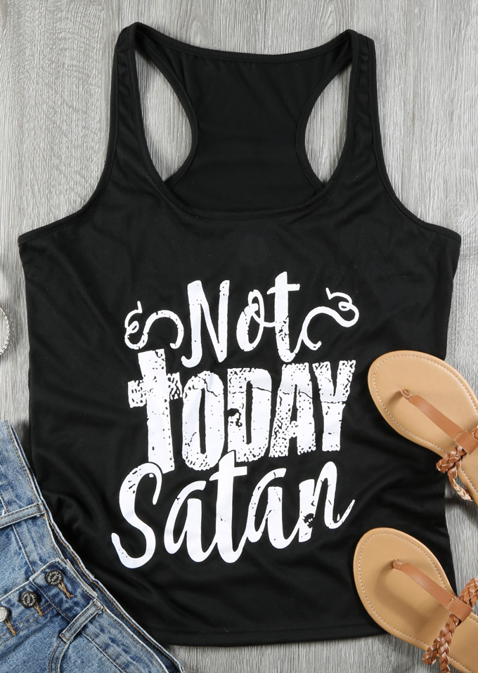788863c69 Not Today Satan Tank - Bellelily