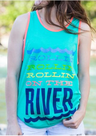 Rollin On The River Tank without Necklace