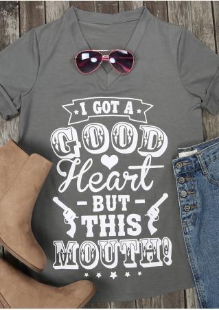 I Got A Good Heart T-Shirt